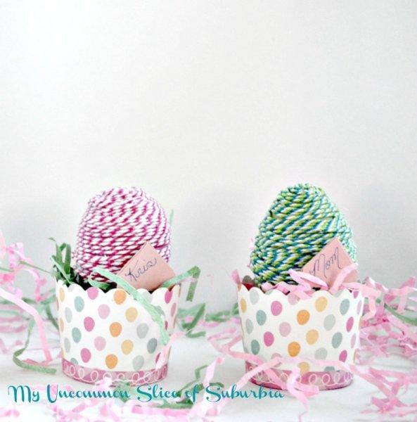 Baker's Twine Easter Eggs