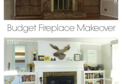 Brick Fireplace Makeovers
