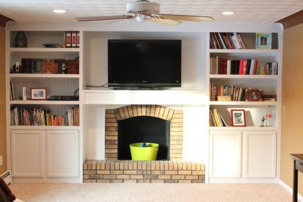 Outstanding Remodelaholic 25 Best Diy Fireplace Makeovers Download Free Architecture Designs Sospemadebymaigaardcom