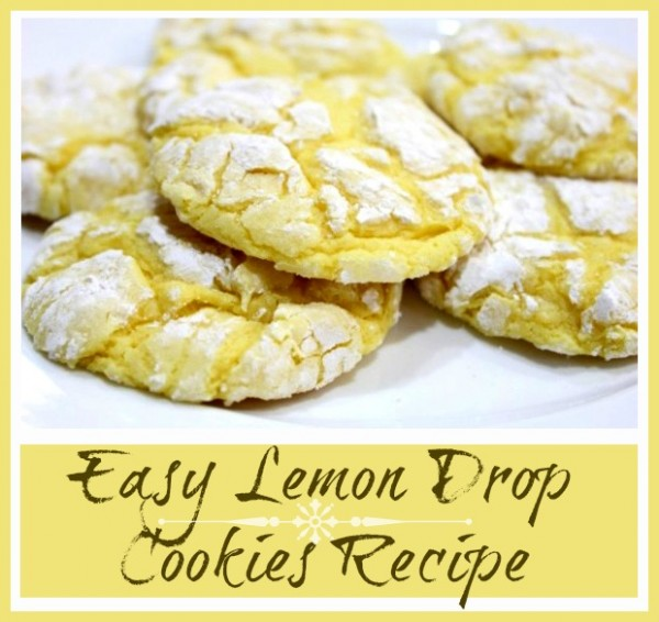 Easy Lemon Drop Cookies