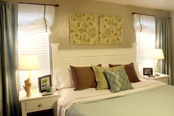 Kitchen Cabinet Door Headboard