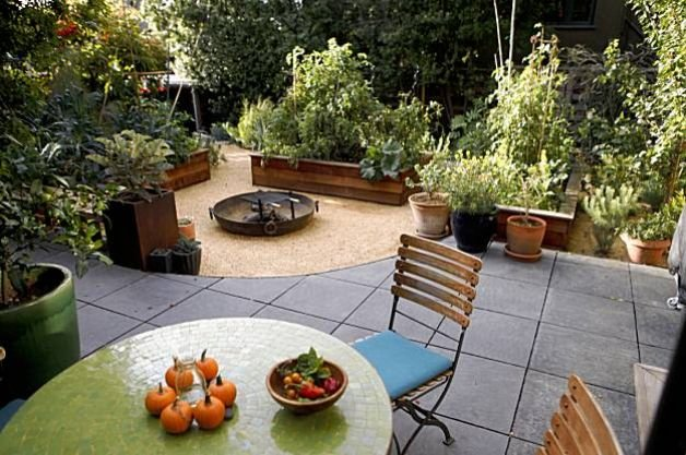 Recycled Wood and Metal Edible Garden