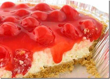 Easy No-Bake Cherry Cheesecake
