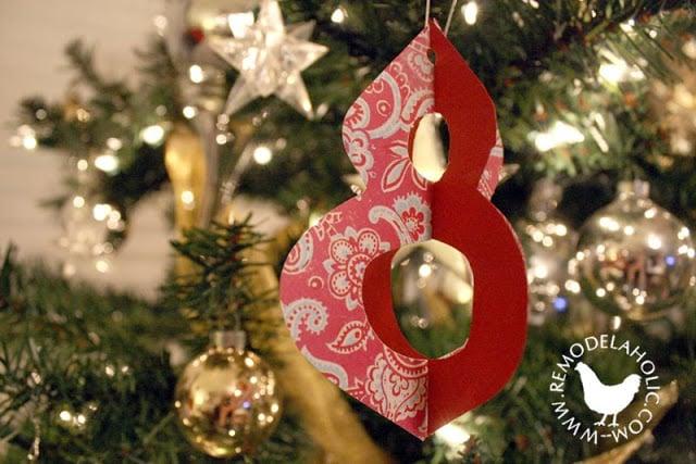 Criss-Cross Paper Ornament