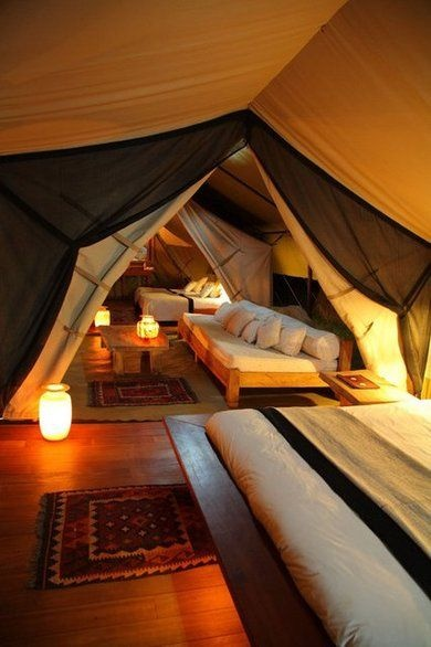Indoor Camping Room
