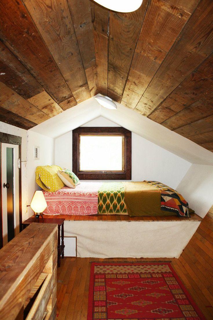 inspiring cozy bedroom | Remodelaholic | 25 Inspiring Finished Attics