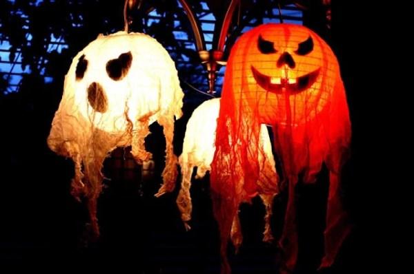 Halloween Decor lanterns