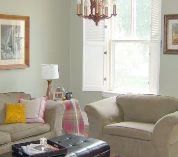 Living Room Before and After: Retro Remodel