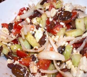 Quick Greek Salad Recipe