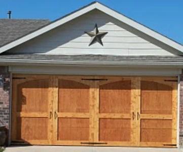 build a carriage style garage door