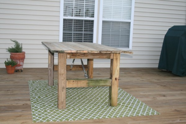 17 how-to-build-a-rustic-outdoor-dining-table-guest-remodel