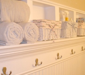 28+ Clever Bathroom Organization DIY Projects