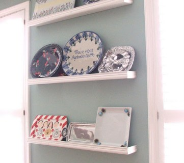 Platter Wall Shelving