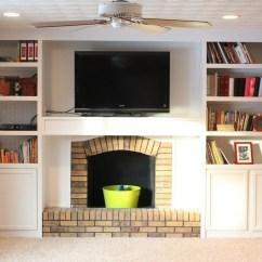 Diy Shelves In Living Room Brown Escape Walkthrough Remodelaholic 15 Built Shelving Ideas 25 For Your Home