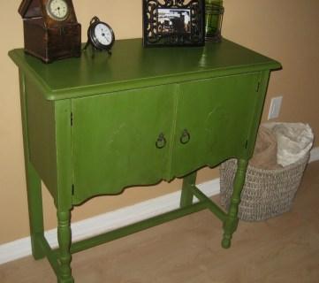Miss Peapod, Furniture Redo