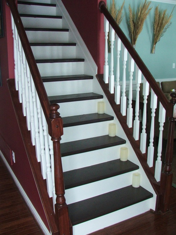 33 How To Update Your Staircase For Less Than $100, Carpet To Wooden, By Cleverly Inspired, Featured On @Remodelaholic