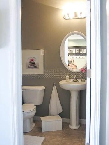 Modern Bathroom Budget Paint Idea