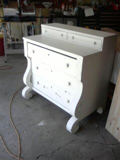 Dresser to Book Case Furniture Remodel (1)