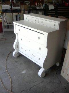 Dresser to Book Case Furniture Remodel (1)