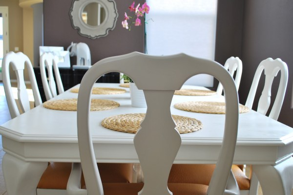 Refinished Dining Room Table and Chair Re-upholstery Tutorial (24)