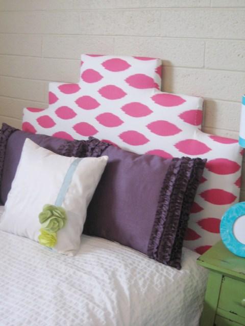 little girls upholstered bed 12