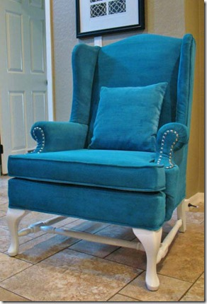 Remodelaholic A New Look For And Old Chair Painted
