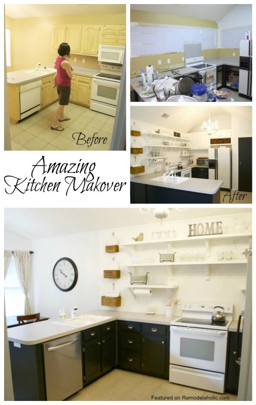 Amazing Kitchen Makeover on a budget