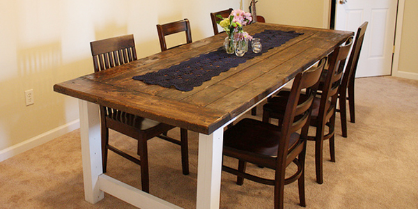 build kitchen table green apple decor remodelaholic beautiful farmhouse dining