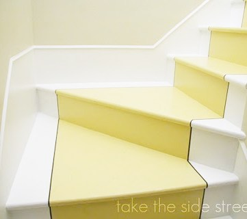 painted-stair-runner-and-fake-stair-skirt