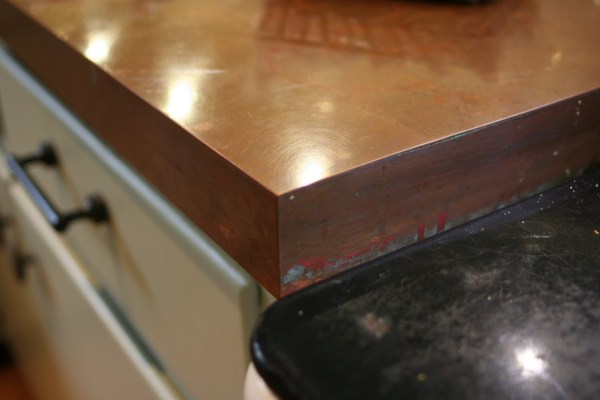 DIY copper countertops Tutorial  (13)
