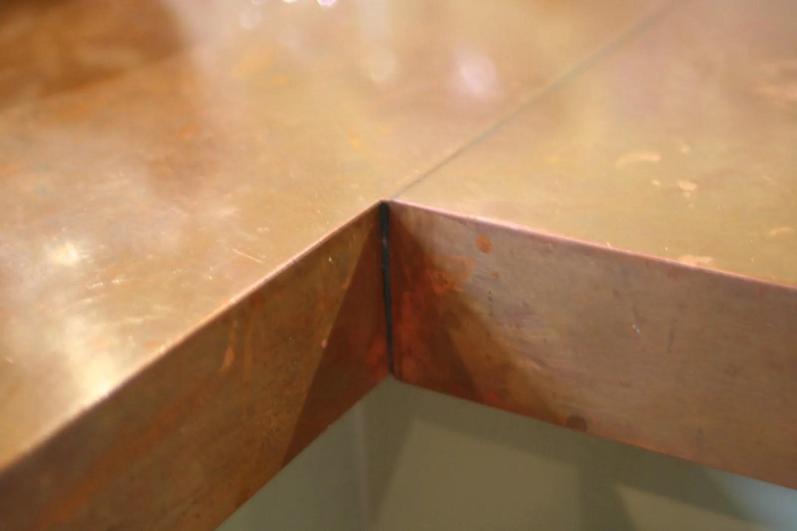 Genial DIY Copper Countertops Tutorial (14)