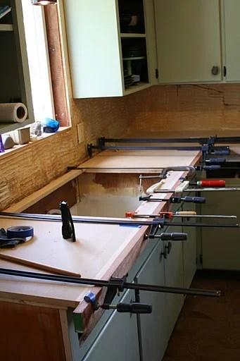 Remodelaholic Copper Countertops Tutorial Kitchen