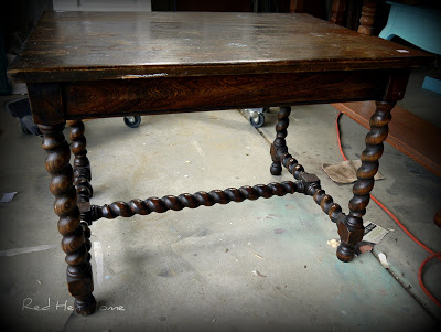 French Twist- Giving a Table a Vintage French Look! (3)