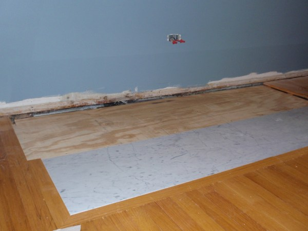 Living Room Remodel, Adding a Fireplace and Built in Bookshelves (5)
