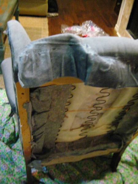hints for recovering a wingback chair (3)
