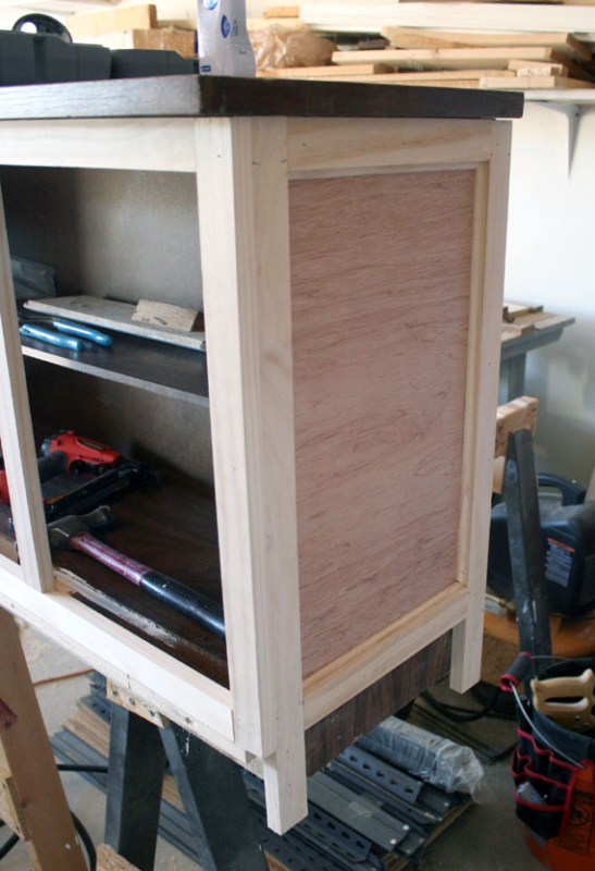 Complete Hutch Makeover, By @ Remodelaholic