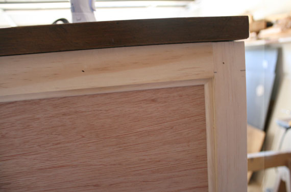 Brown To White And DIY New Doors For Wooden Hutch, By @ Remodelaholic