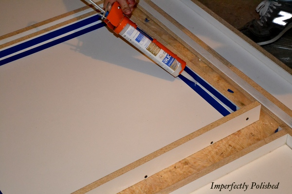 Tutorial For Building Your Own Frames For DIY Concrete Countertops, By Imperfectly Polished Featured On @Remodelaholic