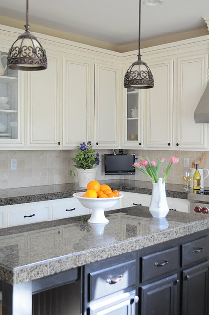 21 Beautiful oak to white kitchen transformation, by My Uncommon Slice of Suburbia featured on @Remodelaholic