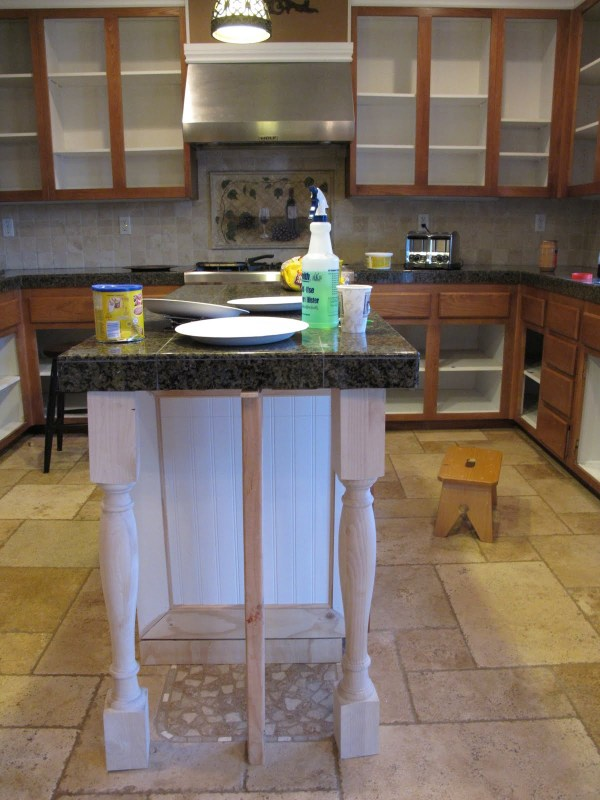 5 Painting oak cabinets to creamy white, kitchen remodel, by My Uncommon Slice of Suburbia featured on @Remodelaholic