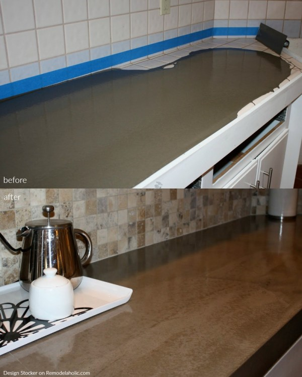 Quick Install Of Concrete Countertops