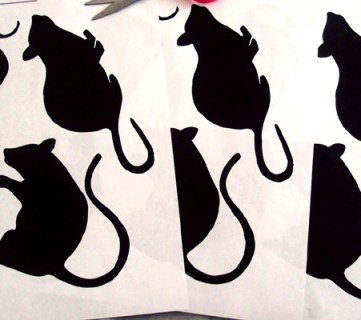 mouse cutouts