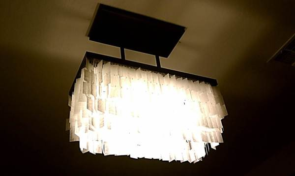 diy faux capiz chandelier 32
