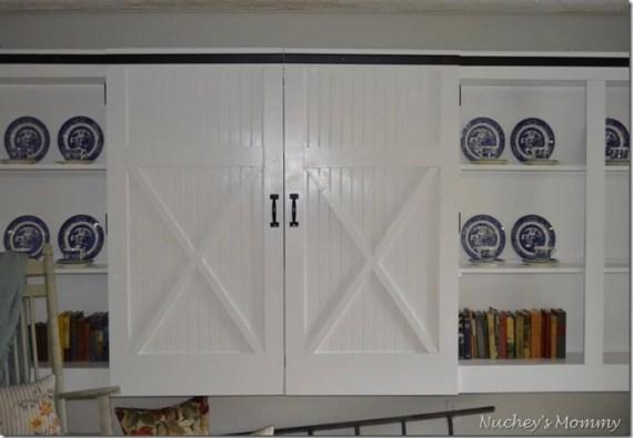 Barn door Cabinets