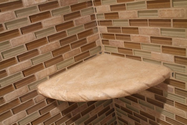29 Mosaic tiles of glass and natural stone, by Elizabeth and Co featured on @Remodelaholic