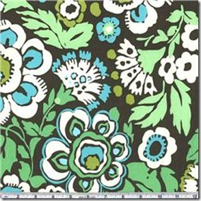 Amy Butler Daisy Chain Deco Rose Forest