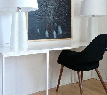 How To Build a Desk With Wood Top and Metal Legs