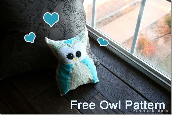free-owl-pattern