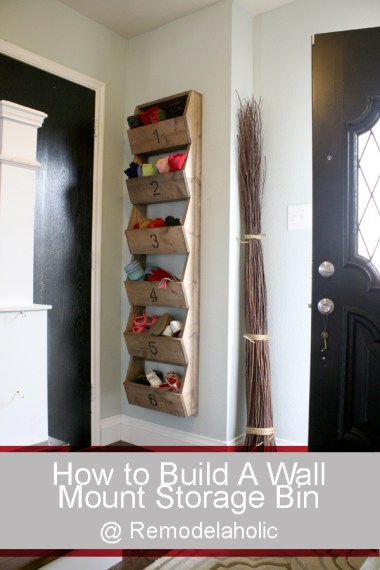 storage bins for your wall
