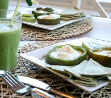 Green Breakfast! Saint Patrick's Day Idea